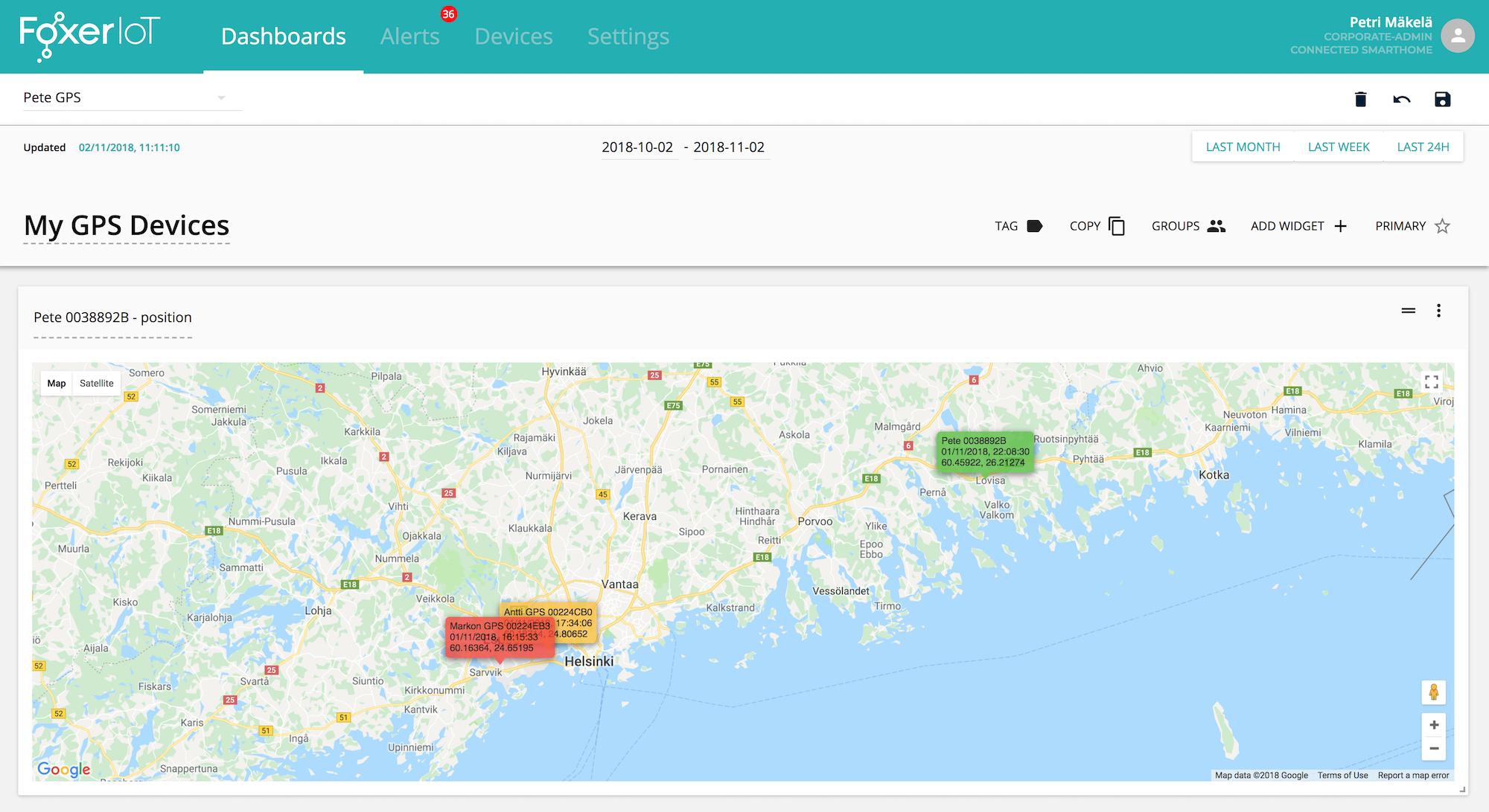 FoxerIoT GPS Tracker Sigfox